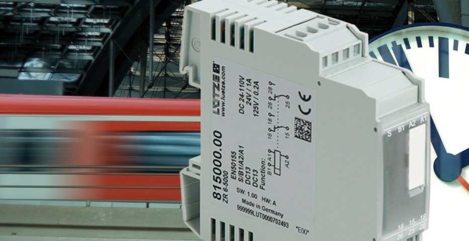 Time is money! Easy to configure multifunction timing relay. - Lütze Transportation GmbH