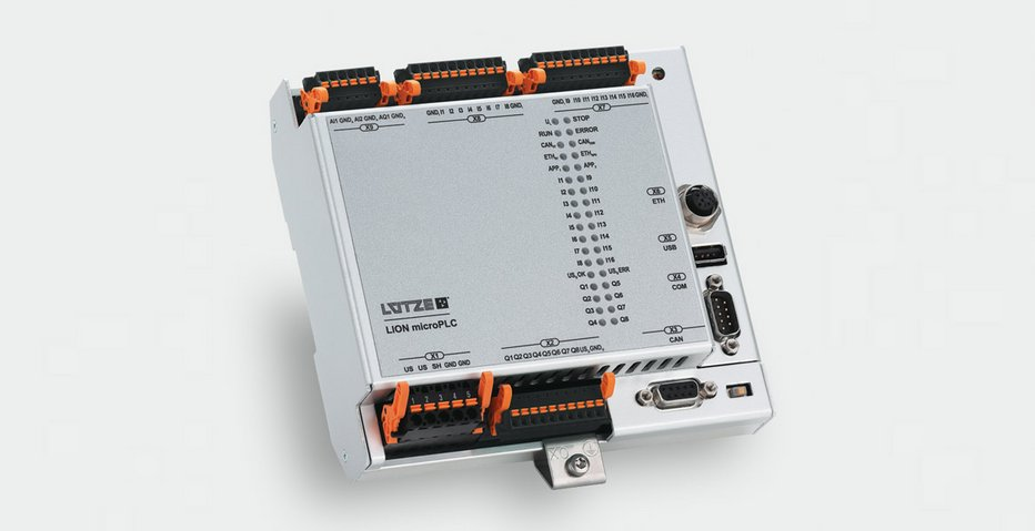 Programmable logic module for rail vehicles - Lütze Transportation GmbH