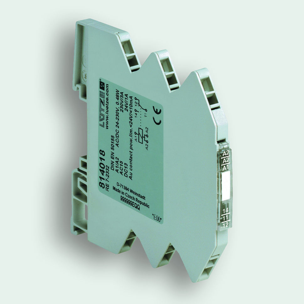 Relay Module With Wide Range Input Voltage For Railway Applications In Circuit Breaker 62 Mm Art No 814018 607 Kb