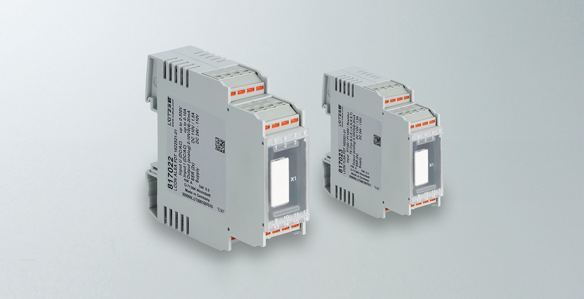Threshold switch for rail applications with a much larger range of functions - Lütze Transportation GmbH
