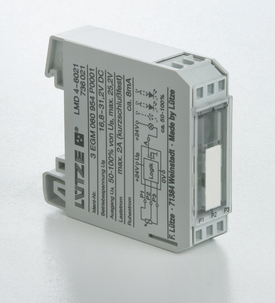 Dimmer modules - Lütze Transportation GmbH
