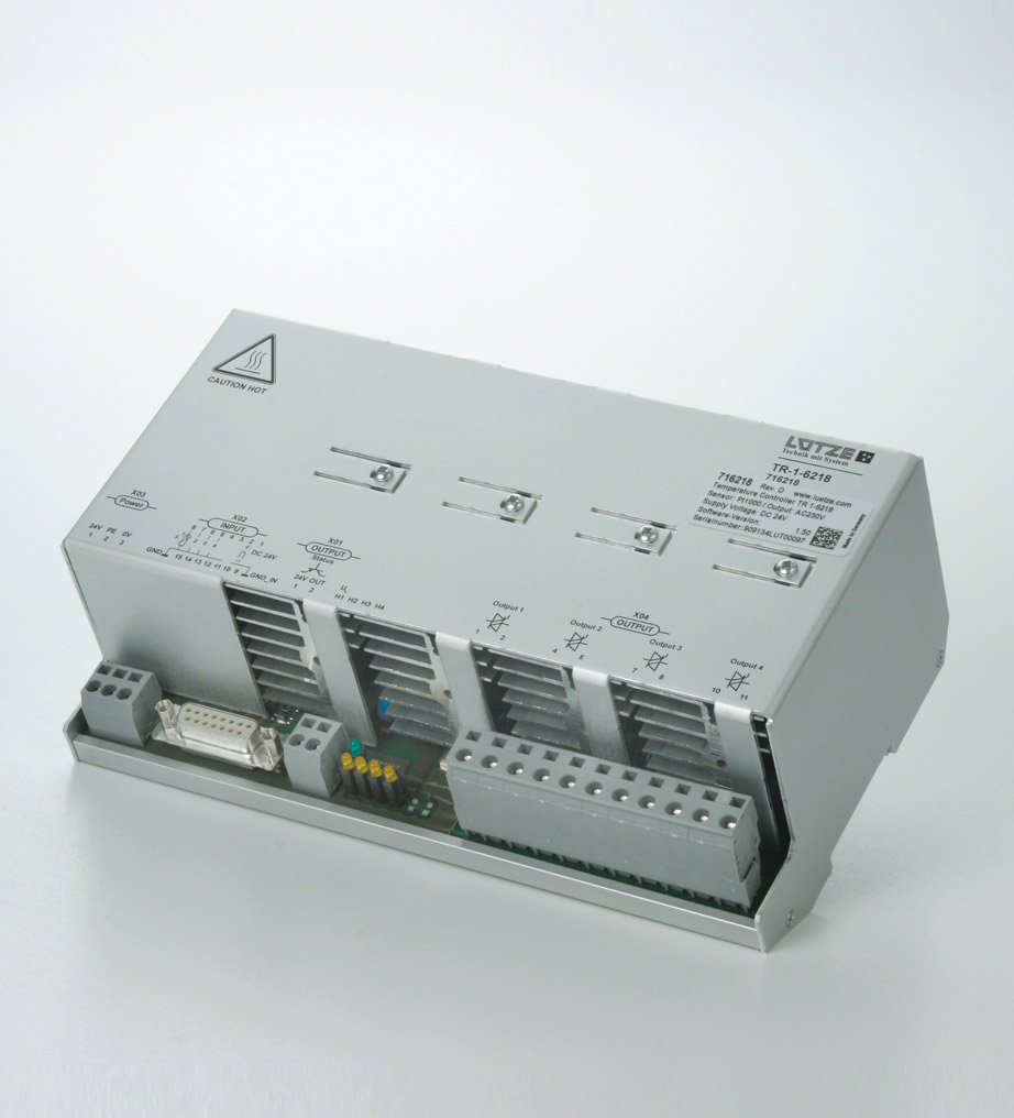 Temperature controller - Lütze Transportation GmbH